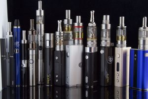 Various types of e-cigarettes