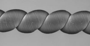 High-tech yarns that generate electricity